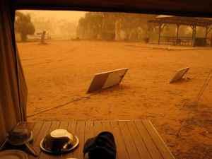 090630 Silverton Dust Storm_campsite